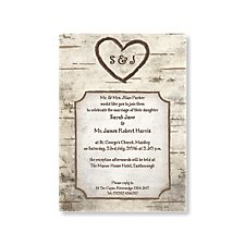 Endless Love Wedding Day Invitation