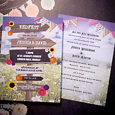 Wed Fest Wedding Day Invitation