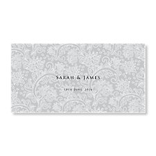 Graceful Wedding Evening Invitation