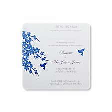 Hummingbird Evening Invitation