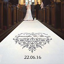 Majestic 20m Personalised Aisle Runner