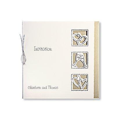 Symbols Of Love Day Invitation Wedding Invitations