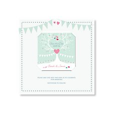 Tree of Hearts Save the Date Magnet